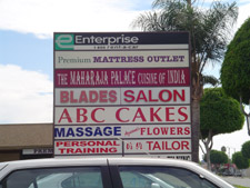Blades Salon Sign